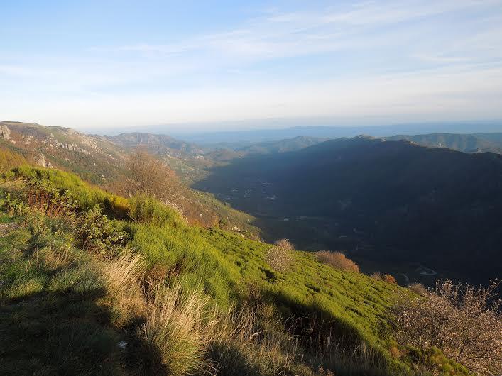 paysage de haut montagne